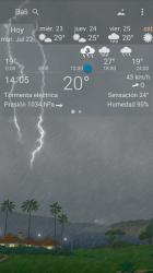 Screenshot 8 de Clima preciso 🌈 YoWindow + Fondos de pantalla para android