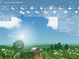 Captura 9 de Clima preciso 🌈 YoWindow + Fondos de pantalla para android
