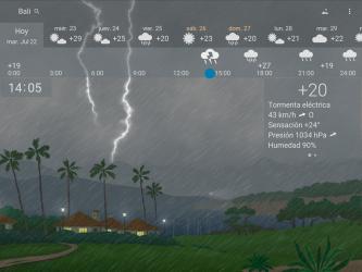 Imágen 13 de Clima preciso 🌈 YoWindow + Fondos de pantalla para android