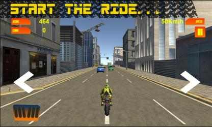 Captura 7 de Traffic Moto Racing 3D para windows