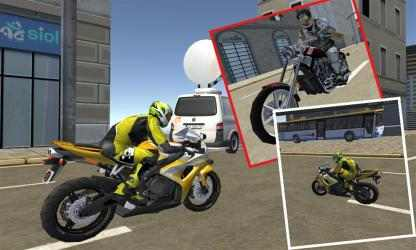 Captura de Pantalla 10 de Traffic Moto Racing 3D para windows