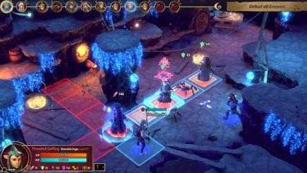 Screenshot 1 de Cristal Oscuro: La era de la resistencia - Tactics para windows