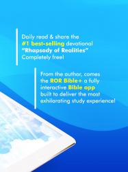 Screenshot 12 de Rhapsody of Realities Bible + Audios, Planners... para android