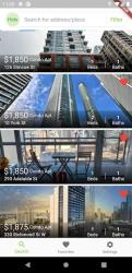 Screenshot 3 de Apartment Rentals in Canada - RentCompass para android