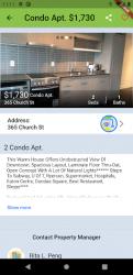 Captura de Pantalla 7 de Apartment Rentals in Canada - RentCompass para android