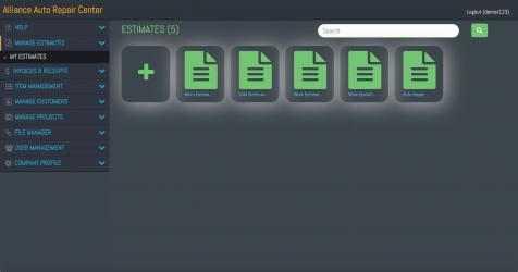 Captura 7 de Estimates & Invoice Maker para windows