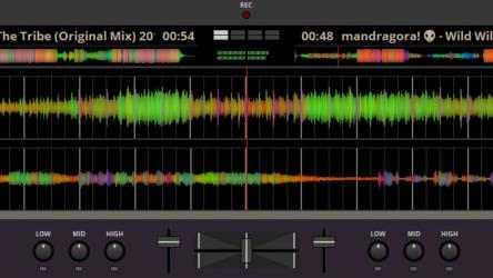 Screenshot 4 de Transitions DJ - Virtual Decks and Mixer para windows