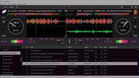 Captura de Pantalla 1 de Transitions DJ - Virtual Decks and Mixer para windows