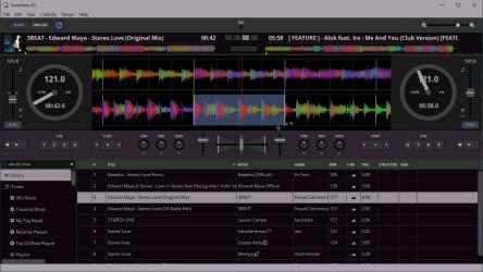 Captura de Pantalla 3 de Transitions DJ - Virtual Decks and Mixer para windows