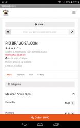 Captura de Pantalla 6 de Rio Bravo Saloon, Limassol, Cyprus para android