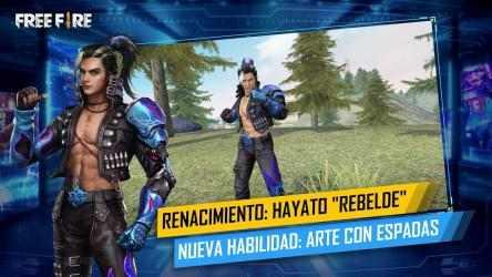 Captura de Pantalla 10 de Garena Free Fire: 3volución para android