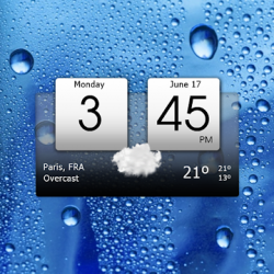 Imágen 1 de Digital clock & world weather para android