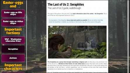Screenshot 12 de The Last Of Us 2 Guide of Game para windows