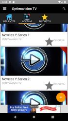 Screenshot 4 de Optimovision Tv - Telenovelas para android
