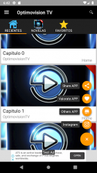 Captura de Pantalla 2 de Optimovision Tv - Telenovelas para android