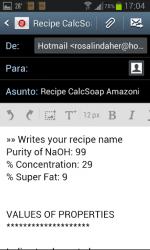 Screenshot 9 de CalcSoap Amazonía español FREE para android
