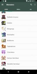 Screenshot 3 de MHGen Database para android
