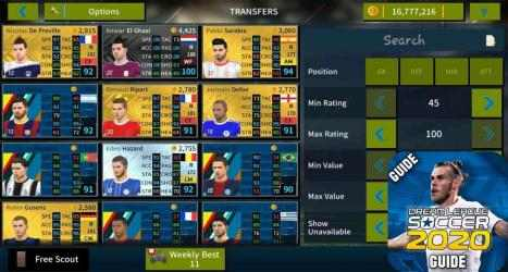 Captura de Pantalla 4 de Guide Dream Winner League Soccer 2020 Secret para android