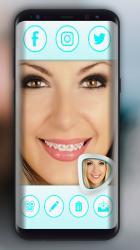 Screenshot 3 de Frenos De Dientes Para Fotos para android