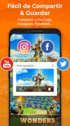Captura de Pantalla 3 de Grabar Pantalla & Grabador Pantalla - XRecorder para android
