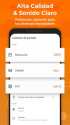 Screenshot 4 de Grabar Pantalla & Grabador Pantalla - XRecorder para android