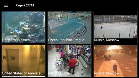 Captura 2 de Live Camera – Earth CCTV IP webcams video en línea para android