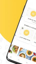 Captura de Pantalla 5 de משלוחה - משלוחי אוכל. עד 30% קאשבק בהזמנת משלוחים para android