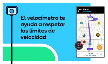 Captura de Pantalla 3 de Waze - GPS, Maps, Traffic Alerts & Live Navigation para android
