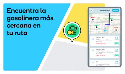 Captura de Pantalla 5 de Waze - GPS, Maps, Traffic Alerts & Live Navigation para android