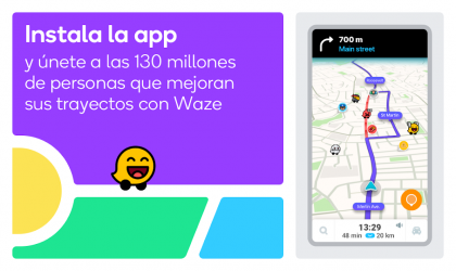Captura 8 de Waze - GPS, Maps, Traffic Alerts & Live Navigation para android