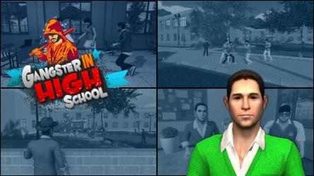 Captura de Pantalla 7 de Gangster in High School - New Fighting Games 2020 para android