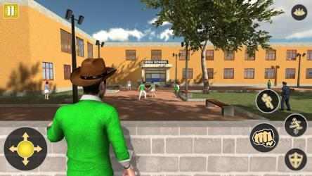 Captura de Pantalla 10 de Gangster in High School - New Fighting Games 2020 para android