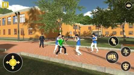 Screenshot 6 de Gangster in High School - New Fighting Games 2020 para android