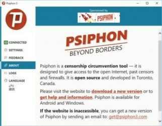 Imágen 3 de Psiphon para windows