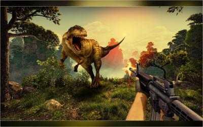 Captura 9 de Real Dino Cazador -  Jurásico Aventuras Juego para android