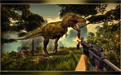 Captura 7 de Real Dino Cazador -  Jurásico Aventuras Juego para android