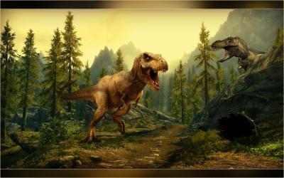 Captura de Pantalla 8 de Real Dino Cazador -  Jurásico Aventuras Juego para android