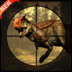 Screenshot 1 de Real Dino Cazador -  Jurásico Aventuras Juego para android