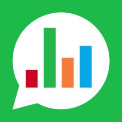 Screenshot 1 de Chat Stats para WhatsApp para android