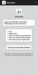 Imágen 2 de Chat Stats para WhatsApp para android