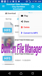 Captura 13 de Descarga de vídeo y canciones para StarMaker para android
