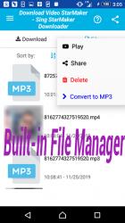 Captura 9 de Descarga de vídeo y canciones para StarMaker para android