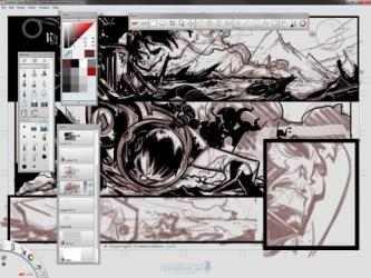 Captura de Pantalla 1 de Autodesk SketchBook Pro para mac