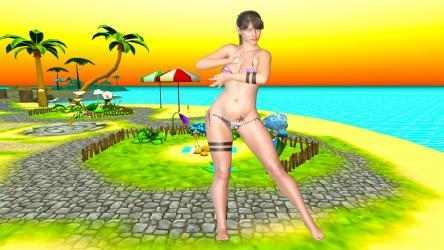 Captura de Pantalla 2 de Tropical Island BeachDancer [HD+] para windows