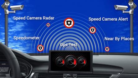 Captura de Pantalla 2 de Detector de camara de velocidad - radar de policia para android