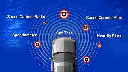 Captura de Pantalla 3 de Detector de camara de velocidad - radar de policia para android