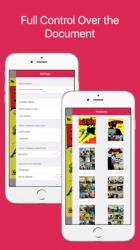 Captura de Pantalla 2 de Comics Book Reader para iphone