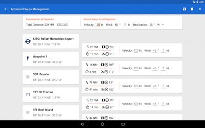 Captura 8 de Avia Maps Aeronautical Charts para android