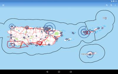 Screenshot 7 de Avia Maps Aeronautical Charts para android