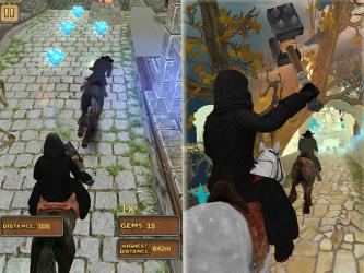 Captura de Pantalla 9 de Templo del Caballo Run 3D para android